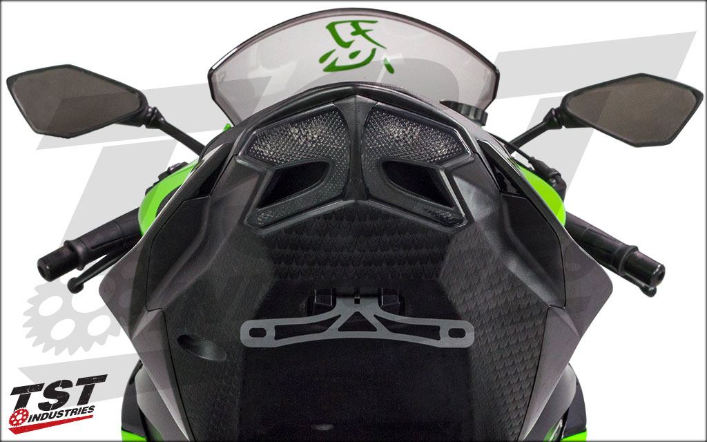 Easy to install parts revamp the look of the entire tail of your Kawasaki ZX6R 636.