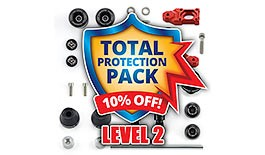 Level 2 Total Crash Protection Pack for Honda CBR600RR 2007+