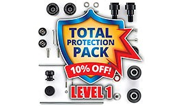 Level 1 Total Crash Protection Pack for Honda CBR600RR 2007+