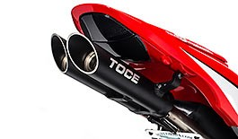Toce T-Slash Exhaust Honda CBR600RR 2007-2012