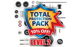 Level 2 Total Crash Protection Pack for Honda CBR1000RR 2008-2016