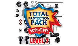 Level 2 Crash Protection Pack for Yamaha R1 2009 - 2014