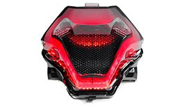 TST Smoked Programmable and Sequential LED Integrated Tail Light for Yamaha YZF-R3 / FZ-07 - Blemished