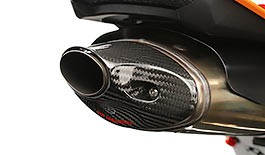 TST Carbon Fiber Exhaust Tip for Honda CBR600RR 2013-2018