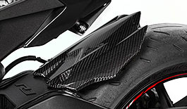 TST Twill Carbon Fiber Rear Tire Hugger for Yamaha YZF-R1 & FZ-10 / MT-10