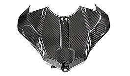 Twill Carbon Fiber Tank Cover YZF-R1 2015+