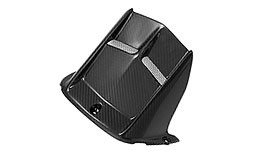 TST Twill Carbon Fiber Rear Hugger for Yamaha YZF-R6 2006+