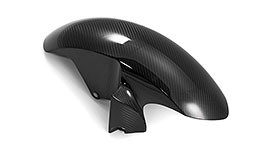 Twill Carbon Fiber Front Fender for Yamaha YZF-R6 2006-2016