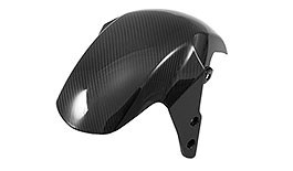 Twill Carbon Fiber Front Fender for Honda Grom 2014+