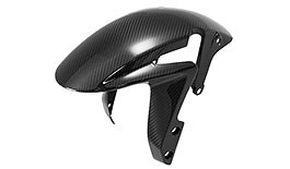 TST Twill Carbon Fiber Front Fender for Honda CBR600RR 2007+