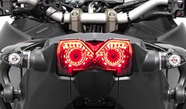 TST LED Integrated Tail Light for Yamaha Niken 2018+
