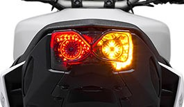 TST Programmable and Sequential LED Integrated Tail Light for Yamaha FZ-09 / MT-09 2017+ - Blemished