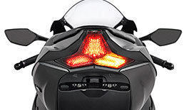TST Programmable and Sequential LED Integrated Tail Light for for Kawasaki ZX-10R 2016+