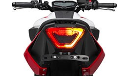 TST Programmable and Sequential LED Integrated Tail Light for Yamaha MT-07 2018+ - Blemished