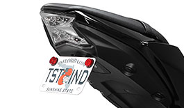 TST Fender Eliminator for Kawasaki Ninja 650 / Z650 2017+