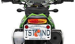 TST LED Integrated Tail Light & Fender Eliminator System for Kawasaki KLX250 / S / SF