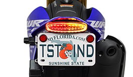 TST LED Integrated Tail Light & Fender Eliminator System for Yamaha WR250R