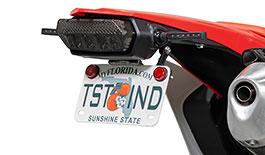 TST Adjustable Fender Eliminator for Honda CRF450L 2019+