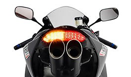 TST LED Integrated Tail Light for Honda CBR600RR 2013-2018