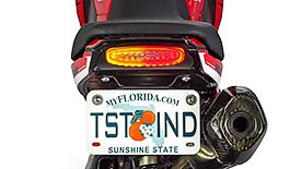 TST Undertail Integrated Tail Light System for Honda Grom 2013-2016