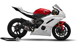 Bikesplast Race Fairing Basic Kit for Yamaha YZF-R6 2017+