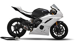 Bikesplast Race Fairing Basic Kit for Yamaha YZF-R3 2015-2018