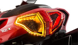 TST LED Integrated Sequential Tail Light for the Ducati 848 / 1098 / 1198 - Blemished