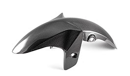 TST Twill Carbon Fiber Front Fender for Yamaha YZF-R3 2015-2018