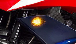 TST LED Front Flushmount Turn Signals for Honda