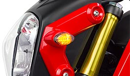 TST LED Flushmount Turn Signals for Honda Grom