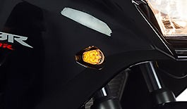 TST Easy Fit LED Front Flushmount Turn Signals for Honda CBR300R / CBR250R