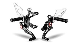 Gilles Tooling Factor-X Rearsets for Kawasaki Ninja 400 2018+
