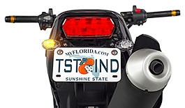 TST Low Profile LED Rear Turn Signals for Honda Grom 2013-2016