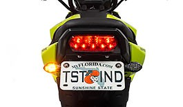 TST Low Profile LED Rear Turn Signals for Honda Grom 2017+