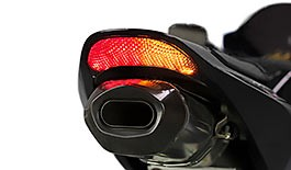 TST LED Integrated Tail Light Honda CBR600RR 2003-2006 / CBR1000RR 2004-2007