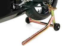 Pit Bull Spooled Forward Handle Rear Motorcycle Stand