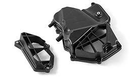 TST WORX Airbox Covers for Yamaha YZF-R3 2015+ / MT-03 2020+
