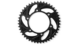 TST WORX 520 Lightweight Aluminium Rear Sprocket for Yamaha FZ-07 / MT-07 / XSR700