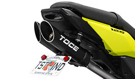 TOCE T-Slash Exhaust for Honda Grom 2013+