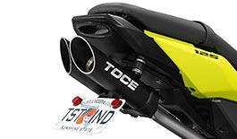 TOCE T-Slash Full System Exhaust for Honda Grom 2013+