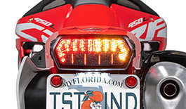 TST Programmable and Sequential LED Integrated Tail Light for Honda CRF450L 2019+