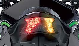 TST Programmable and Sequential LED Integrated Tail Light for Kawasaki ZH2 2020+