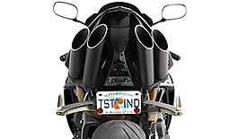 Toce T-Slash Exhaust Yamaha YZF R1 2009-2014