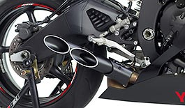 Toce T-Slash Double Down Exhaust Yamaha R6 2006+