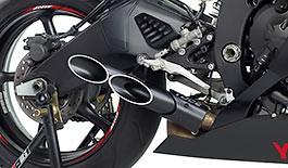 Toce T-Slash Double Down Exhaust Yamaha R6 2006-2017