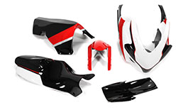 Sharkskinz Full Race Bodywork in TST Livery for Suzuki GSXR 600 / 750 2006-2007