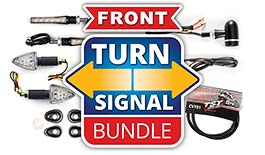 TST LED Front Pod Turn Signal Bundle for Yamaha