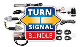 TST LED Front or Rear Pod Turn Signal Bundle for Yamaha XSR900 2016+