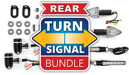 TST LED Rear Pod Turn Signal Bundle Universal