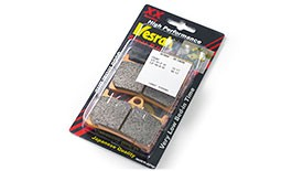 Vesrah SRJL XX Front Brake Pads for Yamaha YZF-R1, YZF-R6, and FZ-10 / MT-10